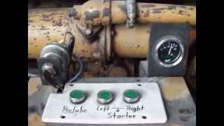 Caterpillar D 399 PC V 16 Bi-Turbo Engine Radiator Conversion