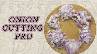 How To Cut Onions Like A Pro | Different Ways To Chop An Onion | Foodies