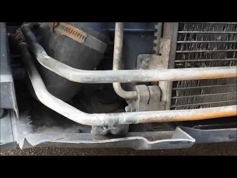 Car Air Conditioning Repair >> Power Steering Metal Cooler Pipe Clean Up & Repair (Saab 9-3) - YouTube