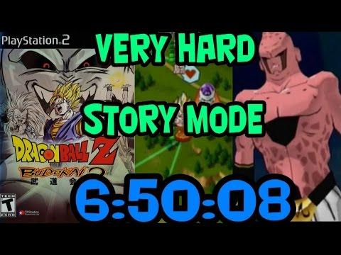 Dragon Ball Z: Budokai 2 Story Mode Very Hard in 6:50:08