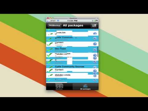 How To Backup Your Jailbroken IOS Apps With PkgBackup