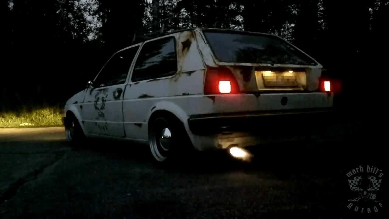 Attirant Volkswagen Golf 1.3 1988 Backfire