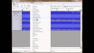 6 audacity   обрезать музыку(5. Обрезаем музыку. Проект