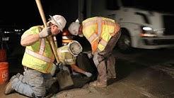 Work Zone Dangers - Interstate 5 Medford Viaduct Deck Work