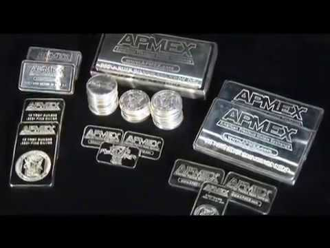 Apmex Silver Bars And Silver Rounds Apmex 174 Youtube