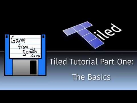 Tiled Map Editor Tutorial Part One:  The Basics