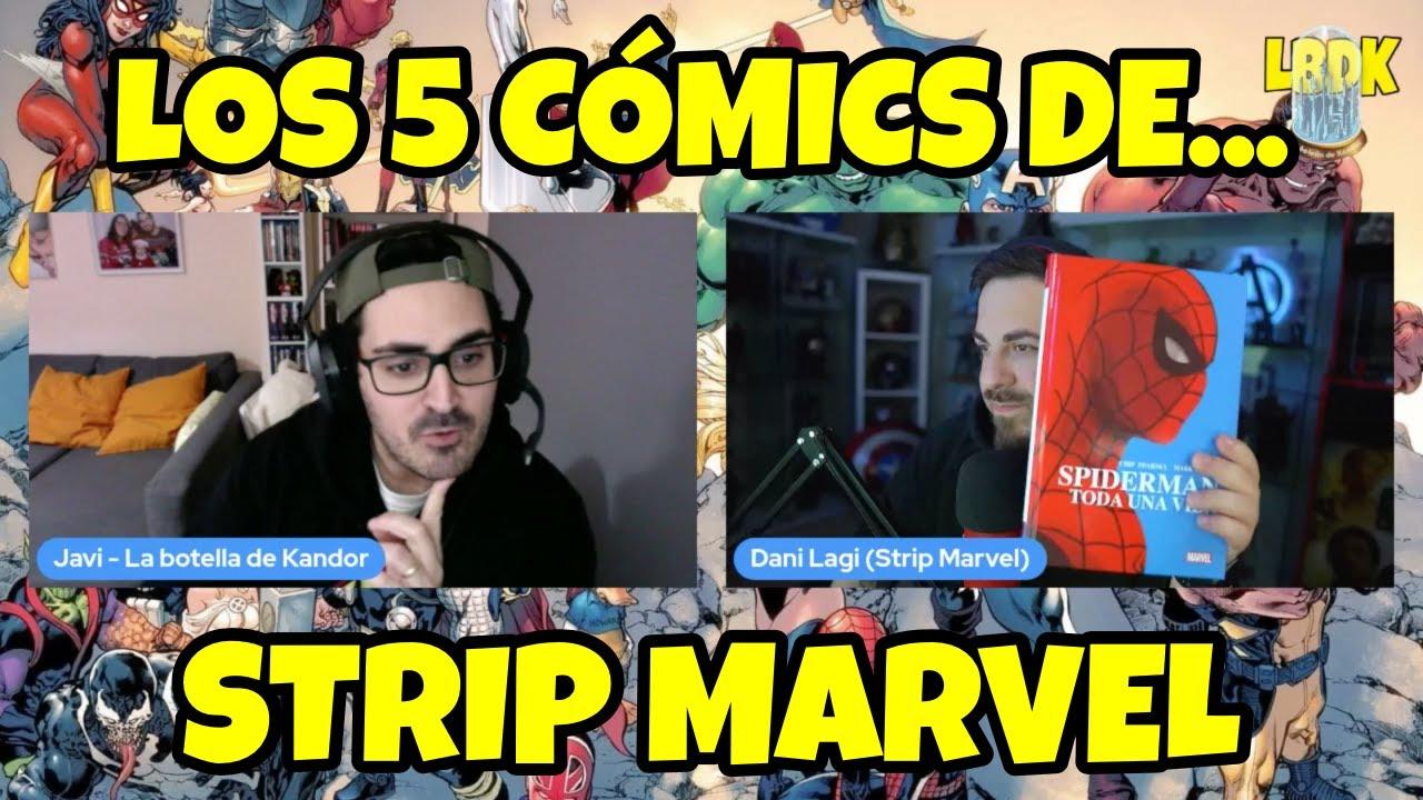 Download Los cinco cómics de... @Strip Marvel