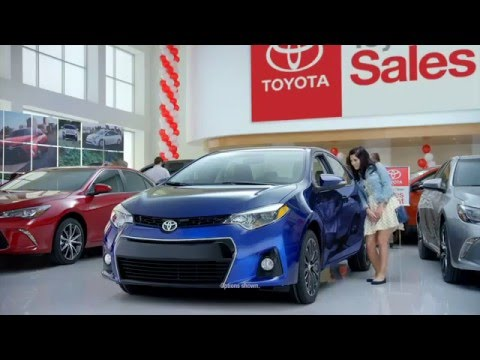 All New 2016 Toyota Corolla | May Cash Back Deal