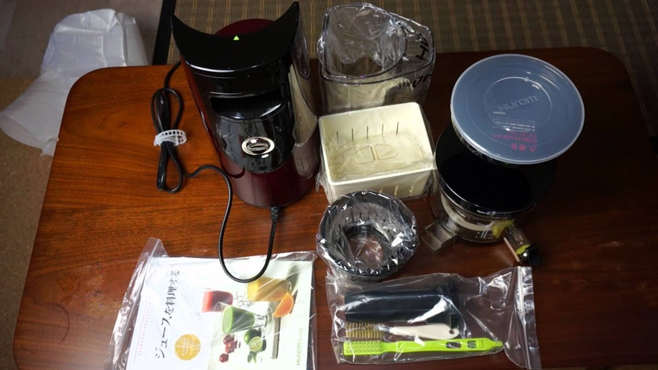 Hurom Slow Juicer In Saudi Arabia : ????? ????????????????????????????? HUROM Slow juicer Doovi