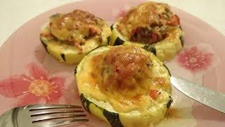 Вторые блюда из кабачков фаршированные кабачки Рецепт Секрета приготовления с мясным фаршем духовке