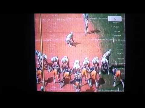 Billy Sims 3rd TD run in debut