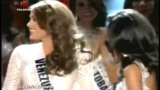 Lo que le dijo Miss Universo 2013 a Miss España segun Chataing