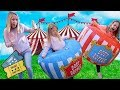 Super Cool Carnival ~ Maya Wins Toys on Every Game!