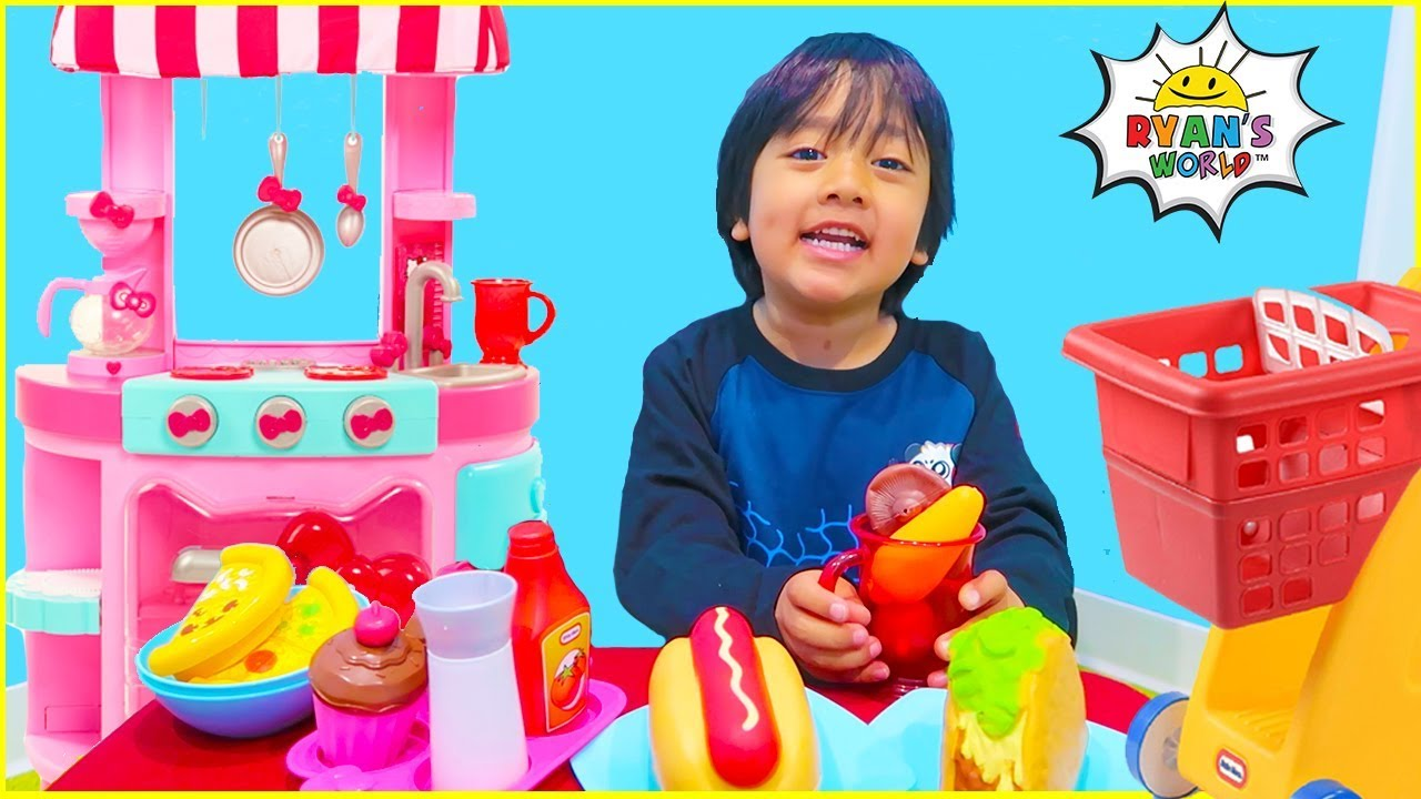 Ryan Cooking And Pretend Play Grocery