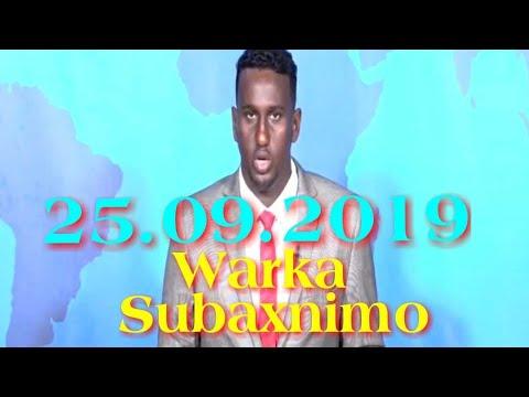 Warka Subaxnimo SNTV 25.09.2019