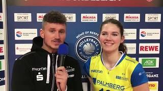 SC Potsdam 0:3 SSC Palmberg Schwerin 31.01.2018