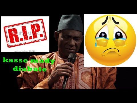 Mort d'un grand artiste Malien  / le Mali en deuil