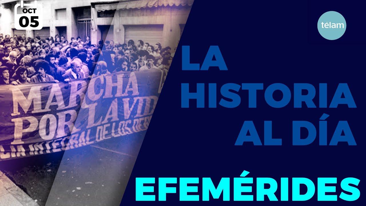 LA HISTORIA AL DÍA (EFEMÉRIDES 5 OCTUBRE)