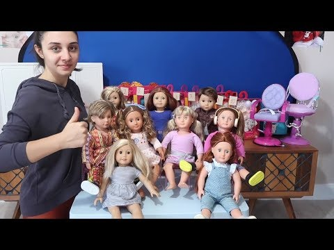Kombin Challenge! American Girl Bebek için Kombin Seç Giydir Bebeğini Baştan Yarat ! Bidünya Oyuncak