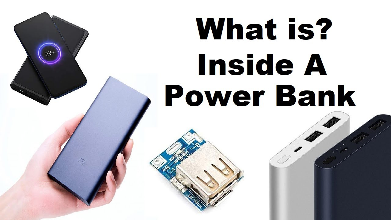 What's Inside A Power Bank? | How It's Work?
