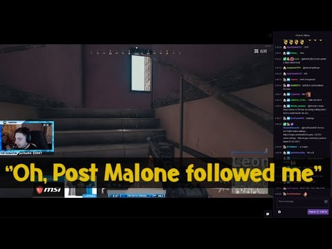 Post Malone Followed Shroud On Twitter