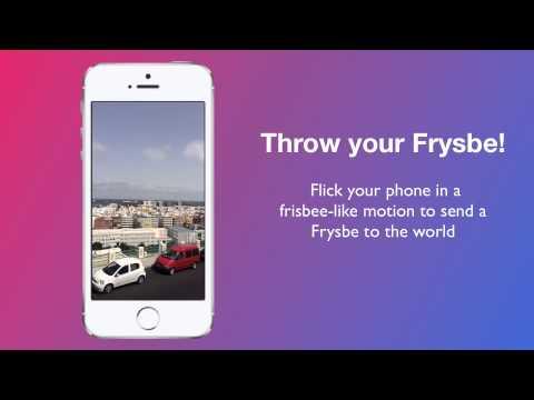 Frysbe - iPhone App Promo Video