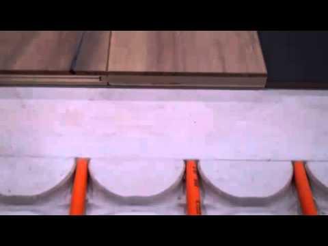 Hardhouten Vloeren Vloerverwarming : Houten vloer vloerverwarming youtube