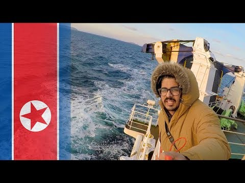 SAILING PAST NORTH KOREA! - Vladivostok to Donghae Ferry - DBS Eastern Dream