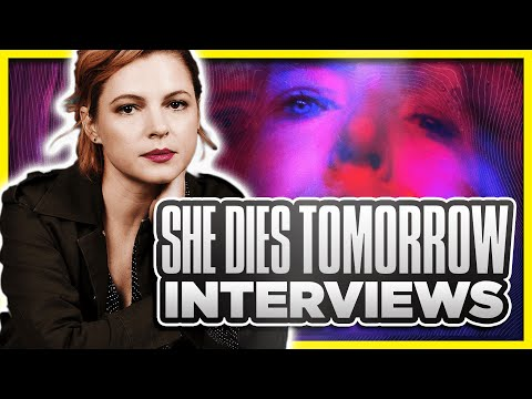 SHE DIES TOMORROW Interview with Amy Seimetz, Kate Lyn Sheil, and Jane Adams