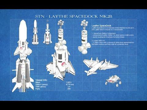 Kerbal Engineering - Building Laythe SpaceDock