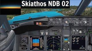 [FSX] PMDG 737 NGX Skiathos NDB 02