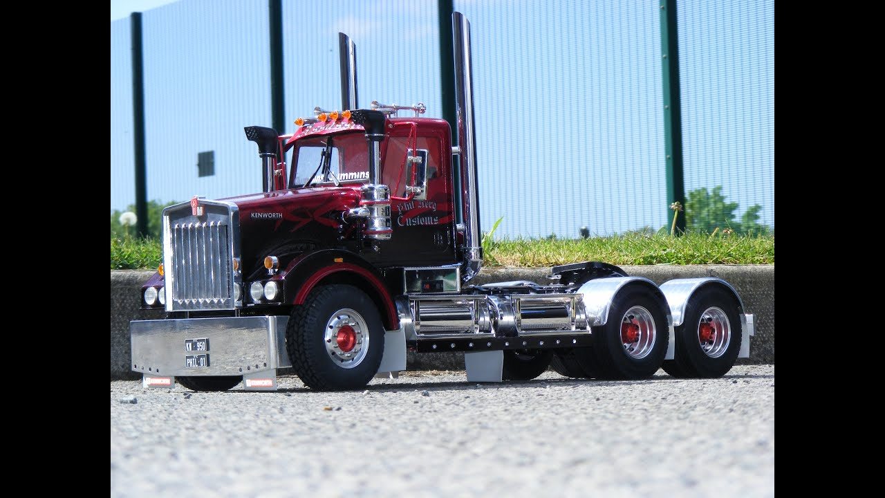 Rc Custom 1/14 scale Tamiya Kenworth Australian Custom Rc Truck