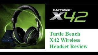 turtle beach x42 wireless headset review