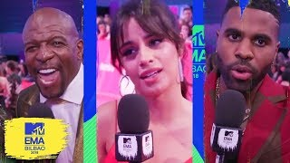 Little Mix, Camila Cabello & More Stan BTS & Ariana Grande | MTV EMAs 2018