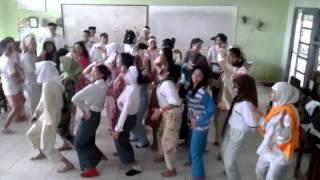 Joget Gila SMK Negri 3 Palembang,ala music prancis