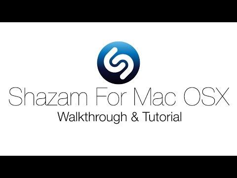 New Shazam For Mac OS X: Application Walkthrough & Tutorial (2014)