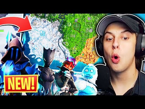 *EVERYTHING NEW* FORTNITE SEASON 7 REACTION (ALL NEW MAP UPDATE)