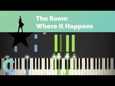 Hamilton - The Room Where It Happens Piano Tutorial
