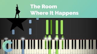 Hamilton - The Room Where It Happens Piano Tutorial