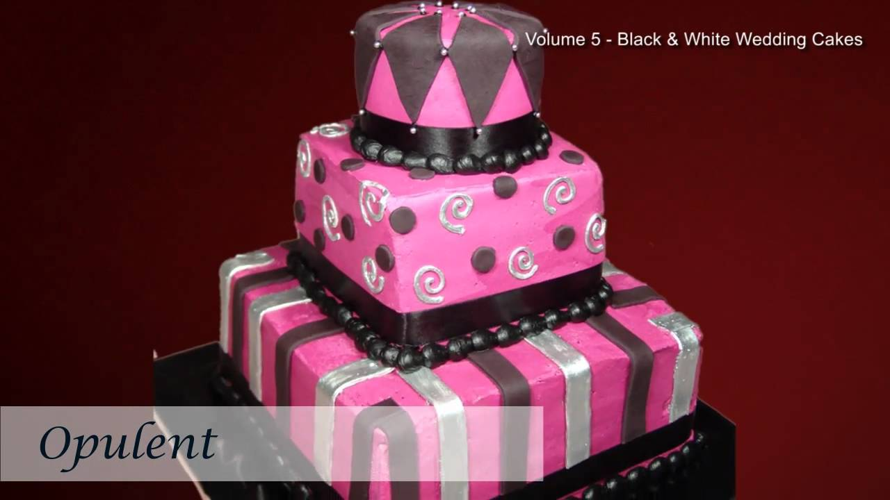 Black and White Wedding Cakes | Wedding Cakes Pictures | Wedding ...