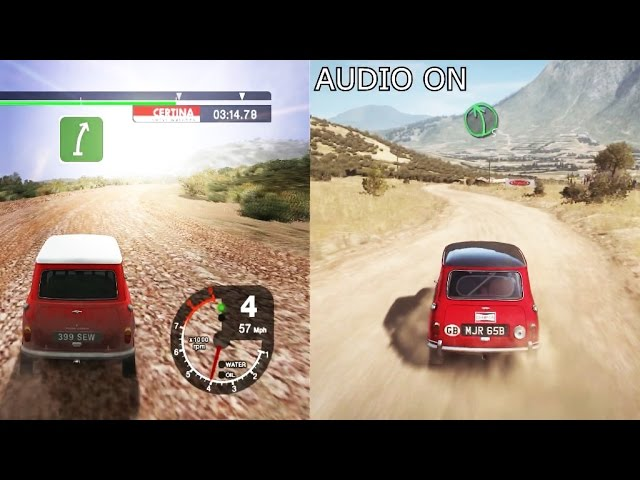 Colin McRae 2005 vs DIRT Rally Graphics comparison