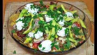 ? - BBQ Chicken Loaded Nachos - How to Make the Ultimate Chicken Nachos - Chicken Nachos