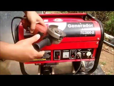 Generador De Electricidad A Gasolina Toyama Tg2800-B thumbnail