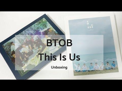 BTOB - This Is Us (orrrrr Th111uss) Unboxing