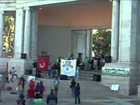 Glenn Morris Adresses Occupy Denver on Behalf of AIM 1