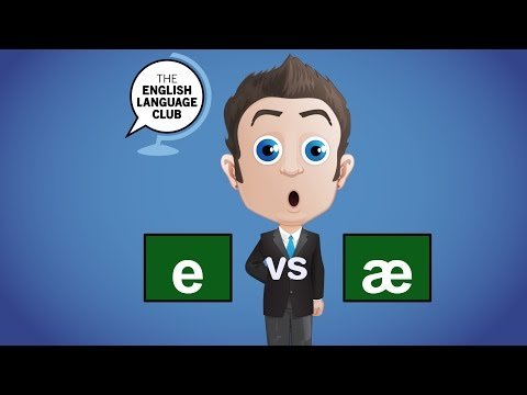 /e/ Phoneme vs /ae/ Phoneme