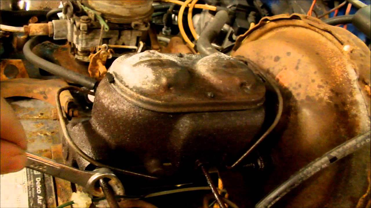 Changing a Master Cylinder - 1978 GMC C2500 - YouTube