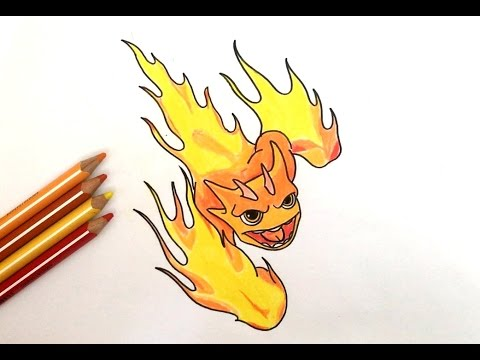 How to draw slugterra burpy