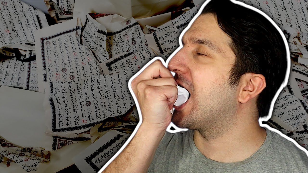 Why I Ate the Quran (I'm Proud of That)