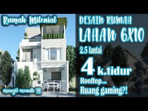 rumah-lahan-6x10-dengan-4-kamar-tidur-2,5-lantai